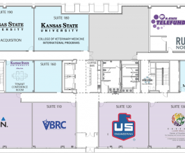 K-State Office Park Phase 1 Tenant Layout